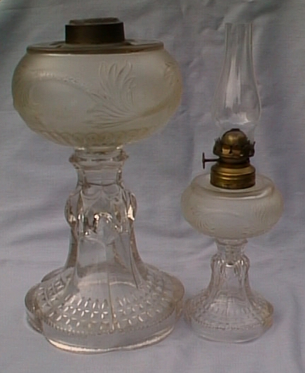 Plume lamp and miniature Plume